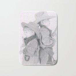 Pint Sized Cowboys Bath Mat
