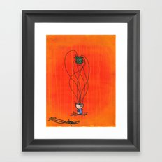 Loose Brain Framed Art Print