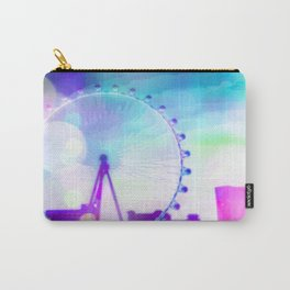 ferris wheel in the city at Las Vegas, USA with the night light bokeh Carry-All Pouch