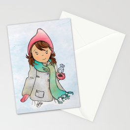 Winter Friends Stationery Cards