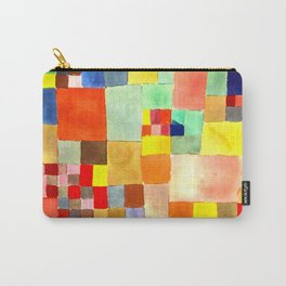 "Paul Klee "" Flora on sand ""  Carry-All Pouch"