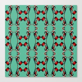 Harley pattern Canvas Print
