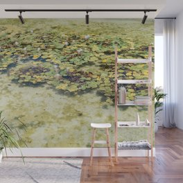Monet Style Lily Pads Wall Mural
