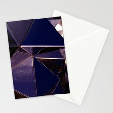 Abstract Glass Pattern Stationery Cards
