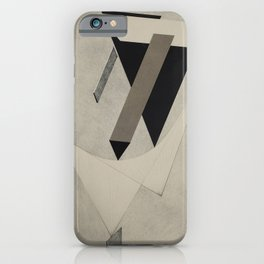 El Lissitzky - Kestnermappe Proun, Rob. Levnis and Chapman GmbH Hannover #4 (1923) iPhone Case