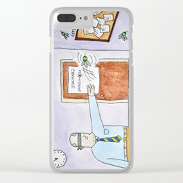 Applying to Graduate School Clear iPhone Case