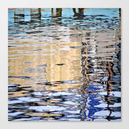 marine reflection Canvas Print