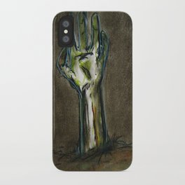 The Dead Shall Rise iPhone Case
