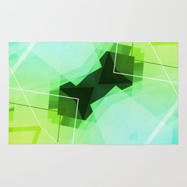 Revive - Geometric Abstract Art Rug