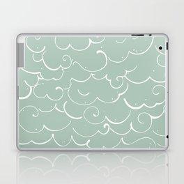 Mint Cloud Laptop & iPad Skin