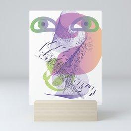 double vision Mini Art Print