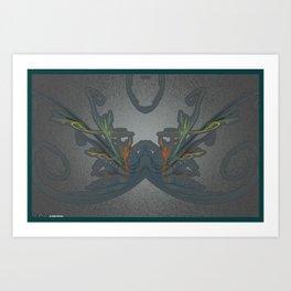 Frakblot 535 Art Print