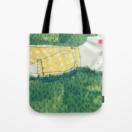 look at me not Tote Bag