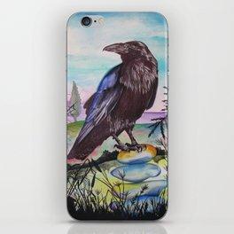 Crow Cairn iPhone Skin
