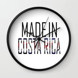 Made In Costa Rica Wall Clock