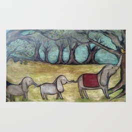 I've Got You By The Tail Rug