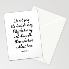 HARRY POTTER // ALBUS DUMBLEDORE II Stationery Cards