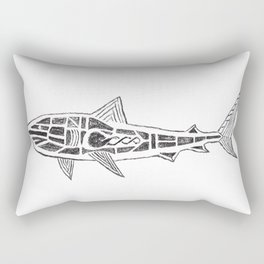 Shark Twist Rectangular Pillow