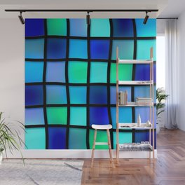 Colored Pattern Wall Mural