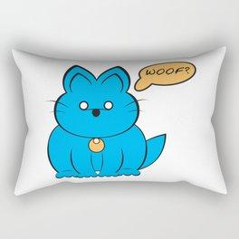 Cat Dog ? Rectangular Pillow