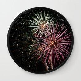 Firework 2 Wall Clock