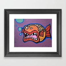 Bob the Goldfish Framed Art Print
