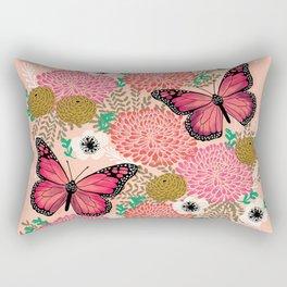 Monarch Florals by Andrea Lauren  Rectangular Pillow