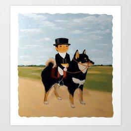 dogmanship Art Print