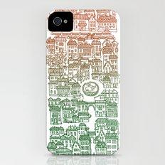 Autumn city iPhone (4, 4s) Slim Case