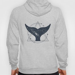 Tail Of A Whale. Geometric Style Hoody
