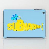 submarine iPad Cases featuring Yellow Submarine by Tali Rachelle