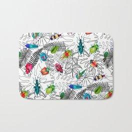 Beetle Bug Collection Bath Mat