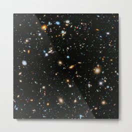 Galaxies of the Universe Telescopic Photograph Metal Print
