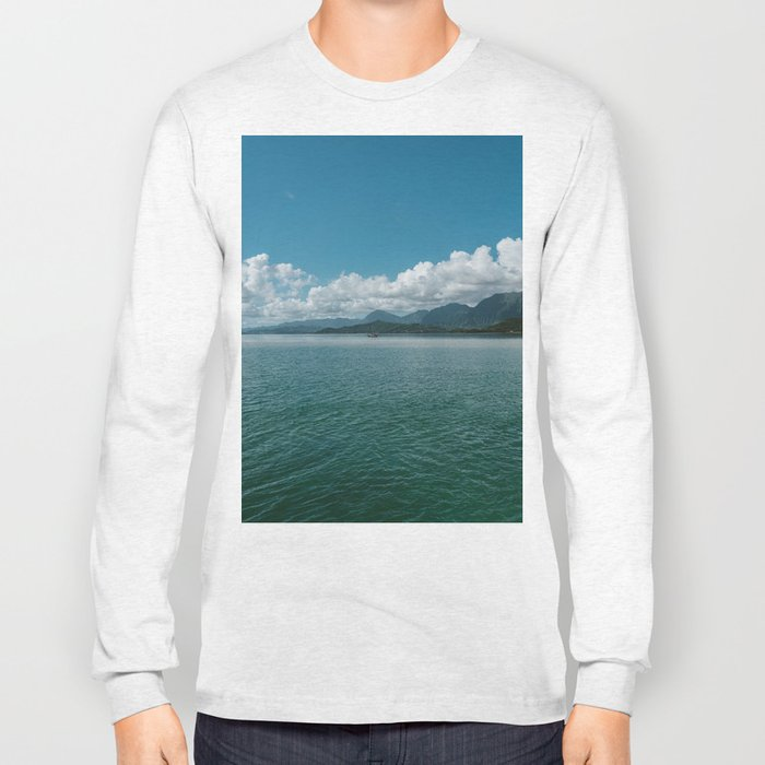 Hawaiian View Long Sleeve T-shirt