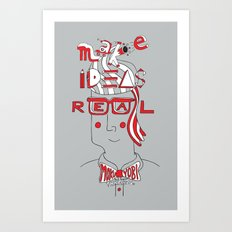 Make Ideas Real Art Print