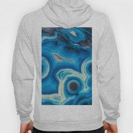 Blue Raindrop Agate 0026 Hoody