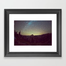Night Luminescence 1 Framed Art Print