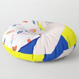 CROSSED FINGERS Floor Pillow