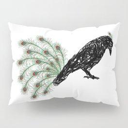 Funny Crow Pillow Sham