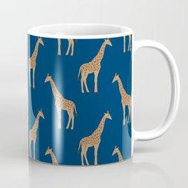 Giraffe african safari basic pattern print animal lover nursery dorm college home decor Coffee Mug