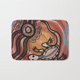 Aboriginal Art - Lizard Bath Mat