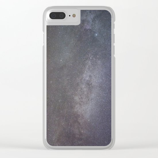 Cygnus and the North American nebula Clear iPhone Case