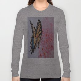 Butterfly and the Phlox Long Sleeve T-shirt