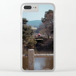 Couple in Nara Clear iPhone Case