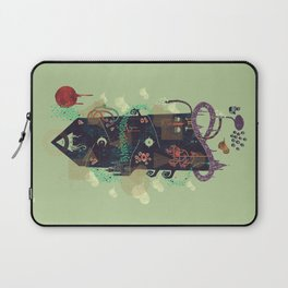 The Ominous and Ghastly Mont Noir Laptop Sleeve