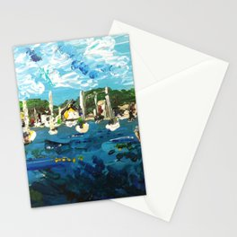 Put n Bay Painting 1 Stationery Cards