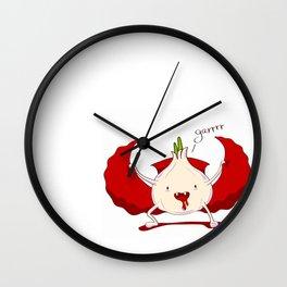 Garr!!! Wall Clock