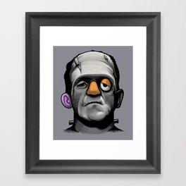 Mr Frankie Head Framed Art Print