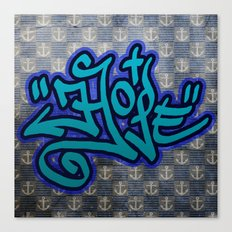 Hope (Graffiti) Canvas Print