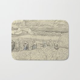 Landscape with Peasant Women Harvesting Bath Mat